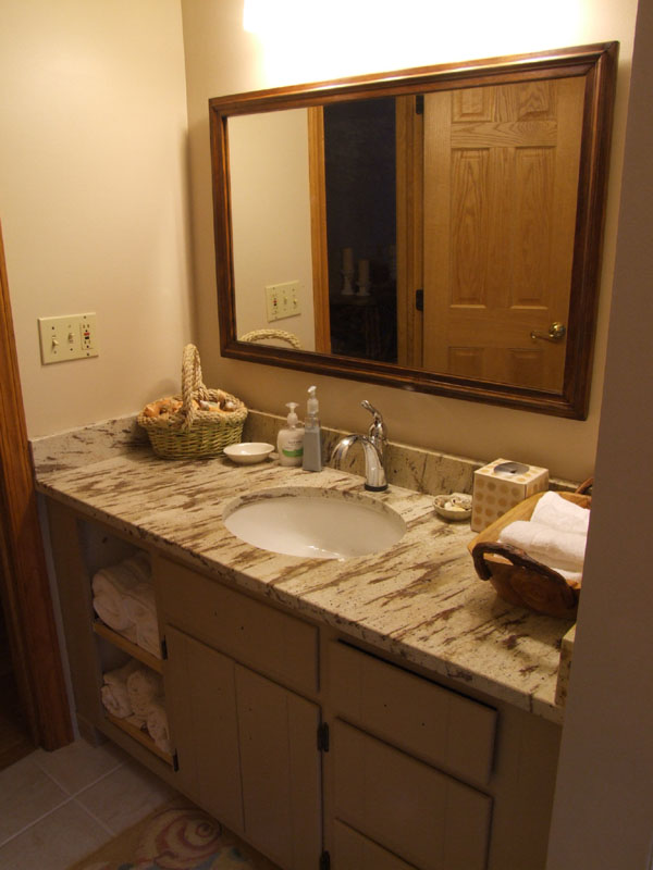 bathroom contractors after remodeling